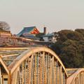 犬山橋から見上げた犬山成田山 - 1