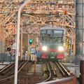 犬山橋を渡る名鉄電車 - 2