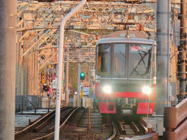 犬山橋を渡る名鉄電車 - 3