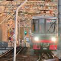 Photos: 犬山橋を渡る名鉄電車 - 3