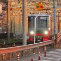 犬山橋を渡る名鉄電車 - 4