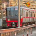 犬山橋を渡る名鉄電車 - 5