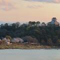木曽川沿いの桜と犬山城 - 2