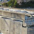 解体工事中の桃花台線桃花台東駅(2020年4月6日) - 17:ホーム部分の床がなくなる