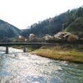 土岐川(庄内川)の対岸から見た古虎渓駅 - 2