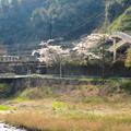 土岐川(庄内川)の対岸から見た古虎渓駅 - 3