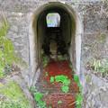 古虎渓駅~古虎渓公園までのルート - 4:JR中央線下にある水路を兼ねた通路?