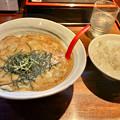 Photos: 麺や彰貴:白彰貴ラーメンと小ライス