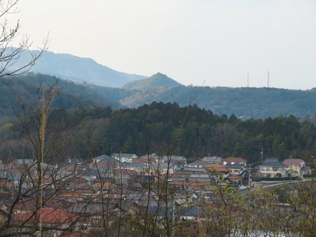 筒小屋展望台 - 11:印象的な山
