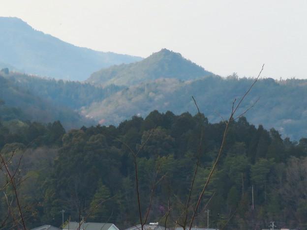 筒小屋展望台 - 12:印象的な山