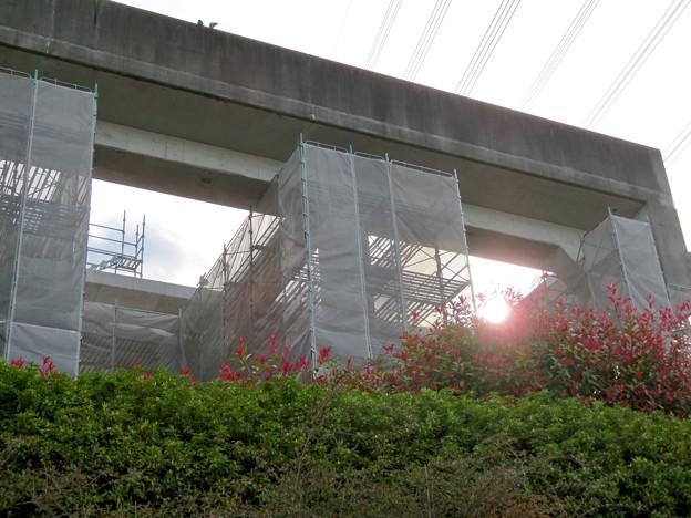 解体工事中の桃花台線桃花台東駅(2020年4月11日) - 11