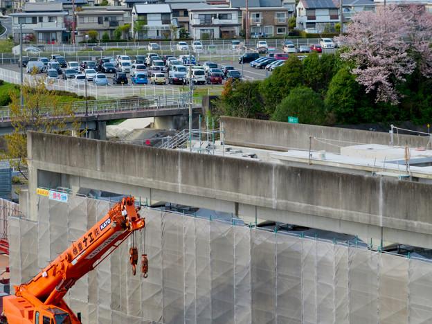 解体工事中の桃花台線桃花台東駅(2020年4月11日) - 21