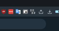 アドレスバーに時刻を表示するOpera拡張「Simple Clock」- 1