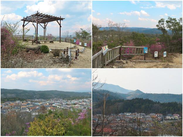 筒小屋展望台と展望台から見える景色 - 1
