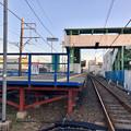 Photos: 踏切地点から見た味美駅 - 2