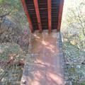東海自然歩道から見上げた愛岐トンネル群第1・第2トンネル間を結ぶ保線道路となってる陸橋 - 3