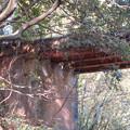 東海自然歩道から見上げた愛岐トンネル群第1・第2トンネル間を結ぶ保線道路となってる陸橋 - 6