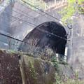 東海自然歩道から見たJR中央線のトンネル - 7