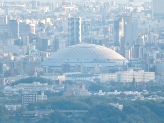 道樹山山頂から見たナゴヤドーム - 2