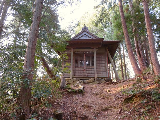道樹山 - 23:山頂にある御嶽神社