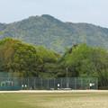 Photos: 高森山公園から見た春日井三山 - 1:道樹山