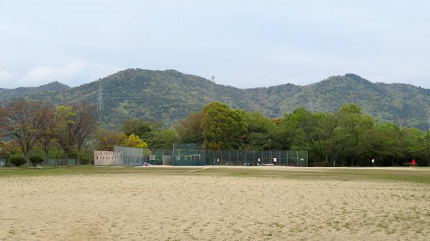 高森山公園から見た春日井三山 - 3
