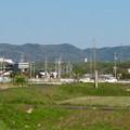 Photos: 小牧市野口から見た春日井三山