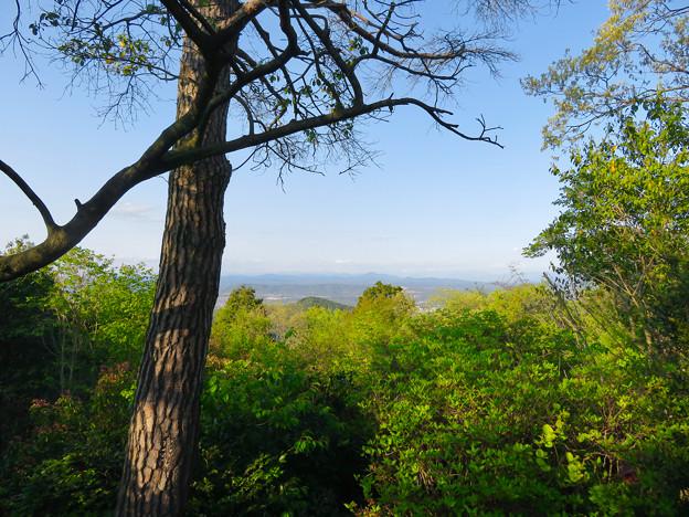 弥勒山 山頂 - 9:多治見方面の景色