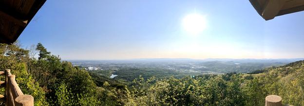 弥勒山 山頂展望台から見た景色 - 3:パノラマ