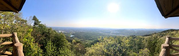 弥勒山 山頂展望台から見た景色 - 4:パノラマ