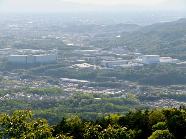 弥勒山 山頂展望台から見た景色 - 16:神屋工業団地