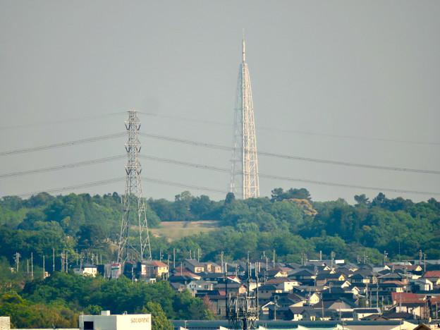 円福寺展望台から見た景色 - 16:瀬戸デジタルタワー