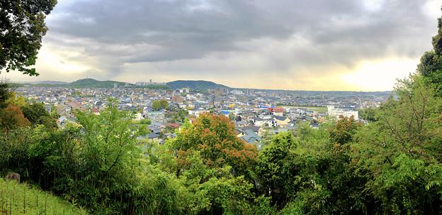 円福寺展望台から見た景色 - 20:パノラマ