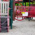 Photos: 桃花台中央公園:新型コロナウイルス感染拡大防止のため遊具の使用が禁止に - 1