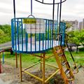 Photos: 桃花台中央公園:新型コロナウイルス感染拡大防止のため遊具の使用が禁止に - 3