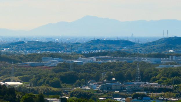 西高森山展望台から見た景色 - 4:伊吹山