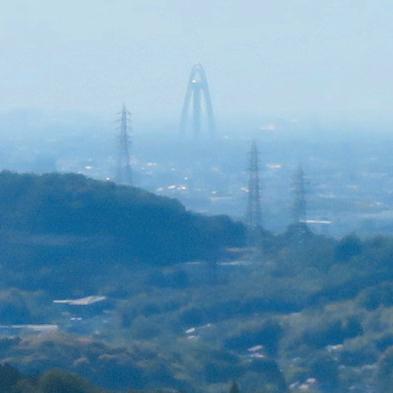 西高森山展望台から見た景色 - 5:ツインアーチ138