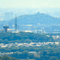 Photos: 西高森山展望台から見た景色 - 9:桃花台中央公園と小牧山