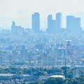 西高森山展望台から見た景色 - 12:名駅ビル群