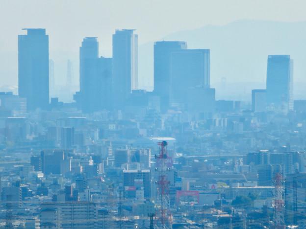 西高森山展望台から見た景色 - 13:名駅ビル群