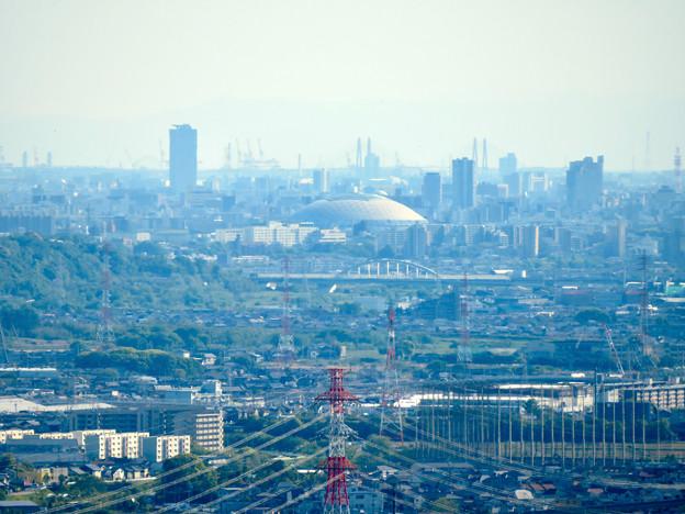 西高森山展望台から見た景色 - 14:ナゴヤドーム