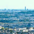 Photos: 西高森山展望台から見た景色 - 16:東山スカイタワー