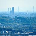 Photos: 西高森山展望台から見た景色 - 20:たぶん名港中央大橋