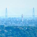 Photos: 西高森山展望台から見た景色 - 21:たぶん名港中央大橋
