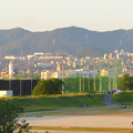 Photos: 庄内川沿いの上島公園前から見た春日井三山 - 3