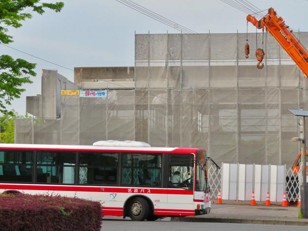 解体工事中の桃花台線桃花台東駅(2020年5月12日) - 2