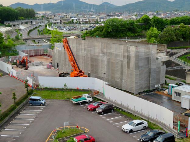 解体工事中の桃花台線桃花台東駅(2020年5月12日) - 3