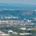 Photos: 本宮山頂上から見える景色 - 12:東谷山と高蔵寺ニュータウン
