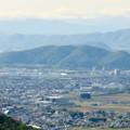 本宮山頂上手前の展望スペースから見た景色 - 3:伊木山