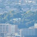 本宮山頂上手前の展望スペースから見た景色 - 7:犬山城